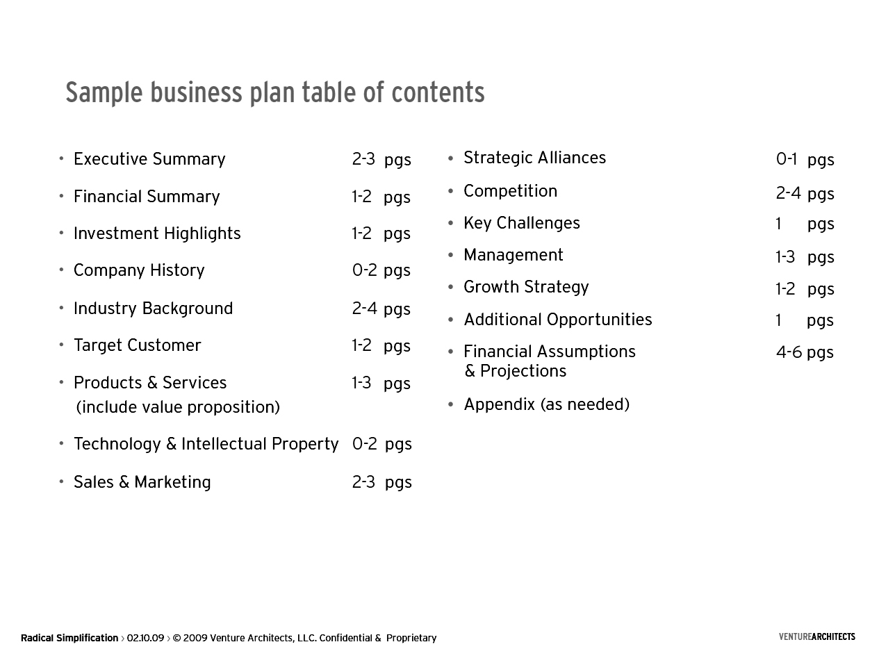 7 Insanely Creative Business Plan Templates