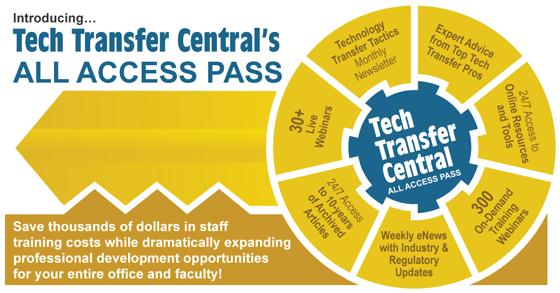 Tech Transfer Central's All Access Pass