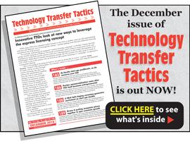 Technology Transfer Tactics, December 2018 Issue