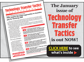 Technology Transfer Tactics, January 2019 Issue