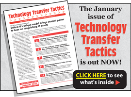 Technology Transfer Tactics, January 2020 Issue
