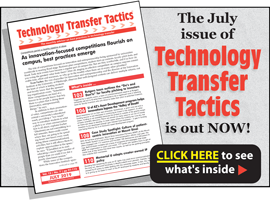 Technology Transfer Tactics, July 2019 Issue