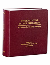 International Patent Litigation: A Country-by-Country Analysis