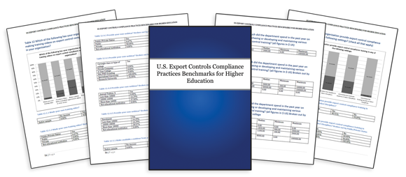 U.S. Export Controls Compliance Practices Benchmarks for Higher Education