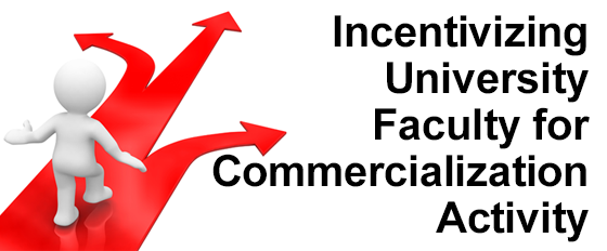 Incentivizing University Faculty for Commercialization Activity