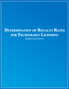 Determination of Royalty Rates for Technology Licensing