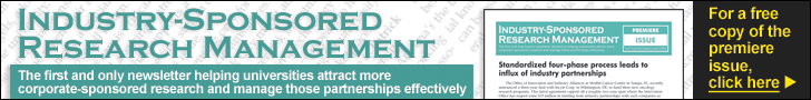 Industry-Sponsored Research Management