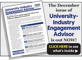 University-Industry Engagement Advisor, December 2019
