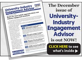 University-Industry Engagement Advisor, December 2019