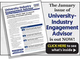 University-Industry Engagement Advisor, January 2020