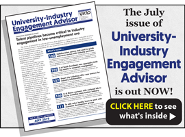 University-Industry Engagement Advisor, July 2019