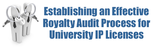 Establishing an Effective Royalty Audit Process for University IP Licenses