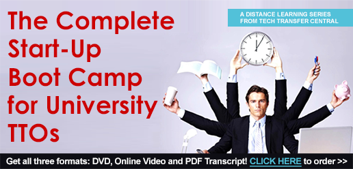 The Complete Start-Up Boot Camp for University TTOs