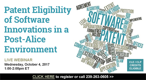 Patent Eligibility of Software Innovations in a Post-Alice Environment
