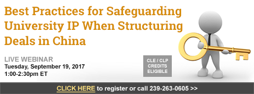 Best Practices for Safeguarding University IP When Structuring Deals in China