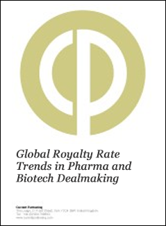 Global Royalty Rate Trends in Pharma and Biotech Dealmaking