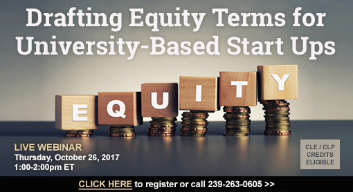 Drafting Equity Terms for University-Based Start Ups