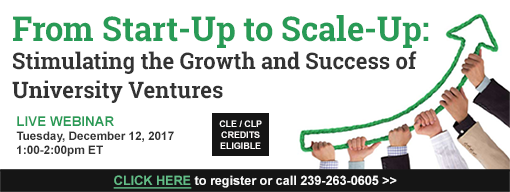 From Start-Up to Scale-Up: Stimulating the Growth and Success of University Ventures