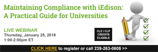 Maintaining Compliance with iEdison: A Practical Guide for Universities