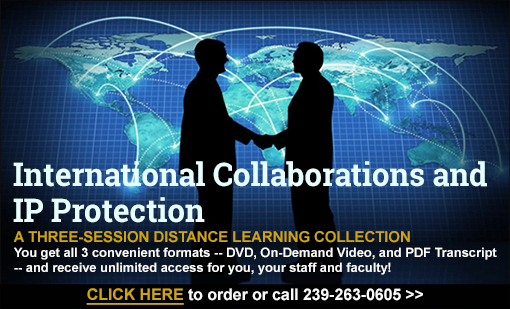 International Collaborations and IP Protection