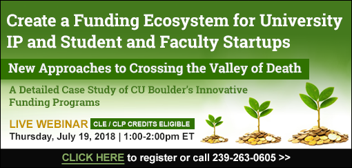 Create a Funding Ecosystem for University IP and Student and Faculty Startups: New Approaches to Crossing the Valley of Death