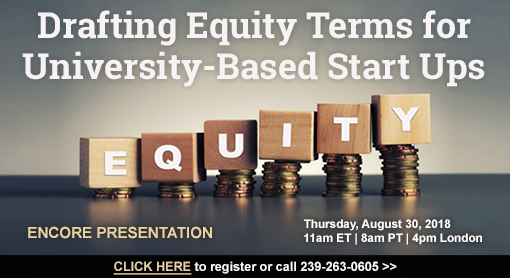 Drafting Equity Terms for University-Based Start Ups
