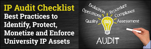 IP Audit Checklist: Best Practices to Identify, Protect, Monetize and Enforce University IP Assets
