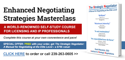 Enhanced Negotiating Strategies Masterclass