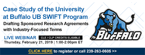 Case Study of the University at Buffalo UB Swift Program: Drafting Sponsored Research Agreements with Industry-Focused Terms