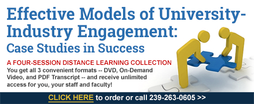 Effective Models of University-Industry Engagement: Case Studies in Success