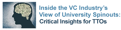 Inside the VC Industry's View of University Spinouts: Critical Insights for TTOs