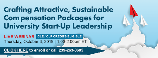 Crafting Attractive, Sustainable Compensation Packages for University Start-Up Leadership