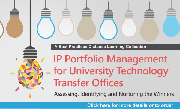 IP Portfolio Management for University Technology Transfer Offices: Assessing, Identifying and Nurturing the Winners