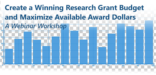 Create a Winning Research Grant Budget and Maximize Available Award Dollars: A Webinar Workshop