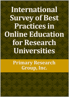 International Survey of Best Practices in Online Education for Research Universities