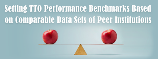 Setting TTO Performance Benchmarks Based on Comparable Data Sets of Peer Institutions