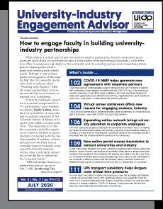 University-Industry Engagement Advisor