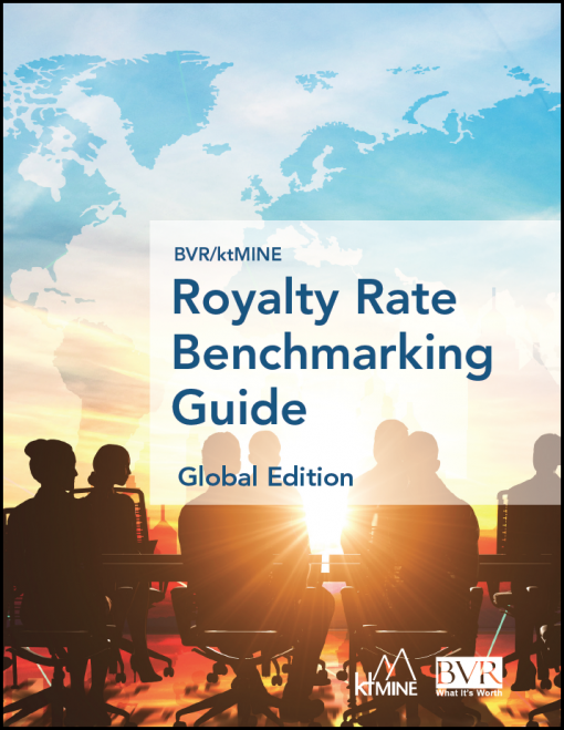 Royalty Rate Benchmarking Guide, Global Edition